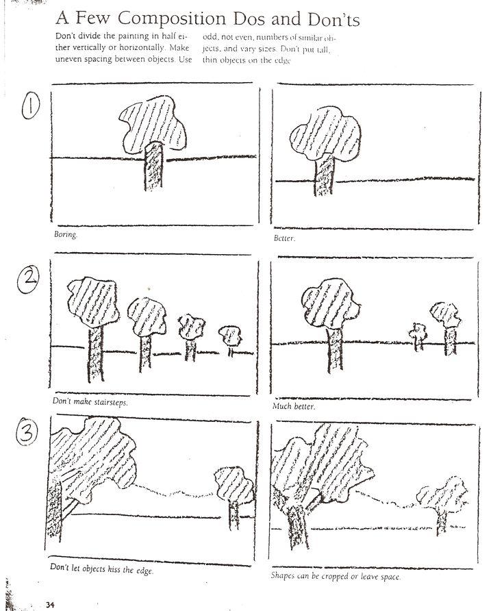 art lessons composition notes art handouts worksheets pinterest. Black Bedroom Furniture Sets. Home Design Ideas