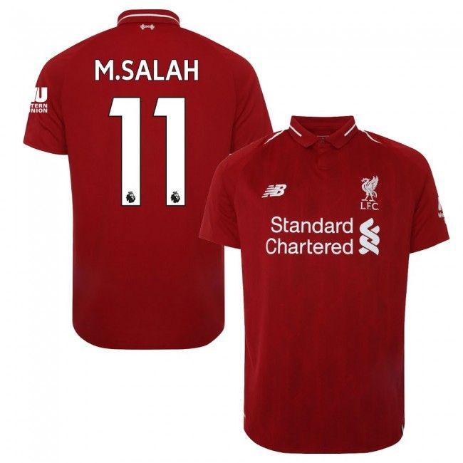 6088fff73 Liverpool 2018-2019 + M. Salah 11 #Home #Local #Domicile #Titular ...