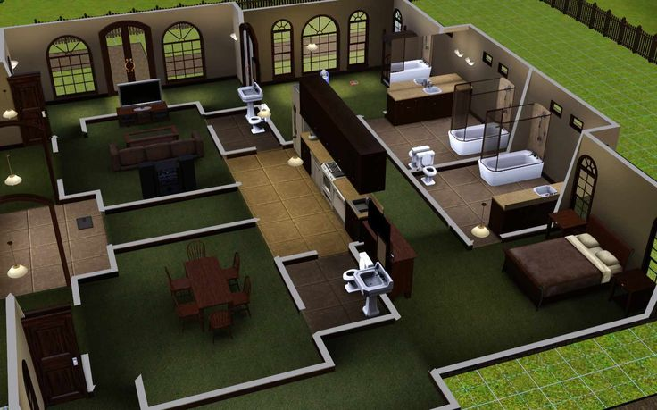 25 best ideas about sims house on pinterest sims 4 for Sims house layouts