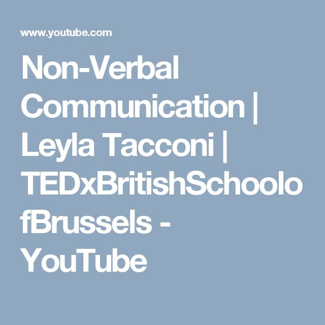Subject Matter - Verbal and Non-Verbal Communication