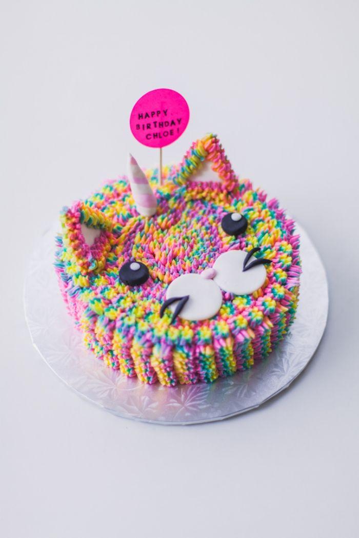 Rainbow Fleurs Comestibles Pour Cupcakes//Gâteau Décorations Anniversaire