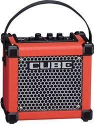 L.A. Music Canada Roland MICRO CUBE GX Red Guitar Amplifier