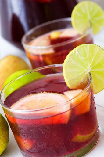 Easy Sangria Recipe - Homemade Spanish Red Wine Sangria Recipe on Yummly