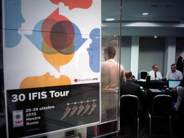 """""""Questo weekend sono stato ospite del #30IFIStour, blog tour organizzato da Banca IFIS per festeggiare il 30esimo compleanno"""". Articolo di @Siro Descrovi"""