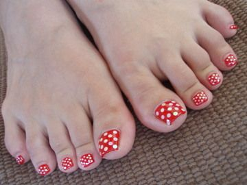disney toes ideas