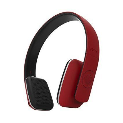 Leme EB20A Wireless Ergonomic Bluetooth 4.0 Over Ear Headphone with Built-in Mic and 12 Hour Battery, with Noise Reduction and Echo Cancellation, Perfect Headset for Gaming and Music (Red) http://www.findcheapwireless.com/leme-eb20a-wireless-ergonomic-bluetooth-4-0-over-ear-headphone-with-built-in-mic-and-12-hour-battery-with-noise-reduction-and-echo-cancellation-perfect-headset-for-gaming-and-music-red/