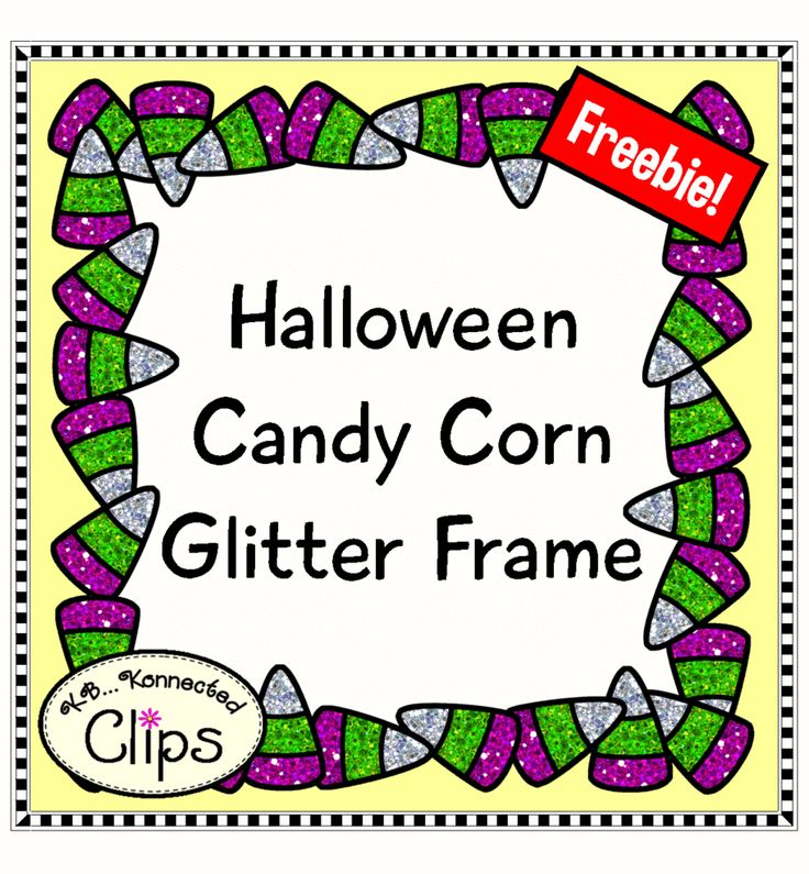 Halloween Candy Corn Frame Freebie! http://www.teacherspayteachers.com/Product/Freebie-Halloween-Candy-Corn-Glitter-Frame-1490259