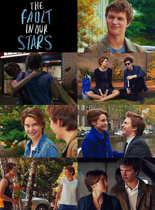 Hazel , Augustus & Isaac...