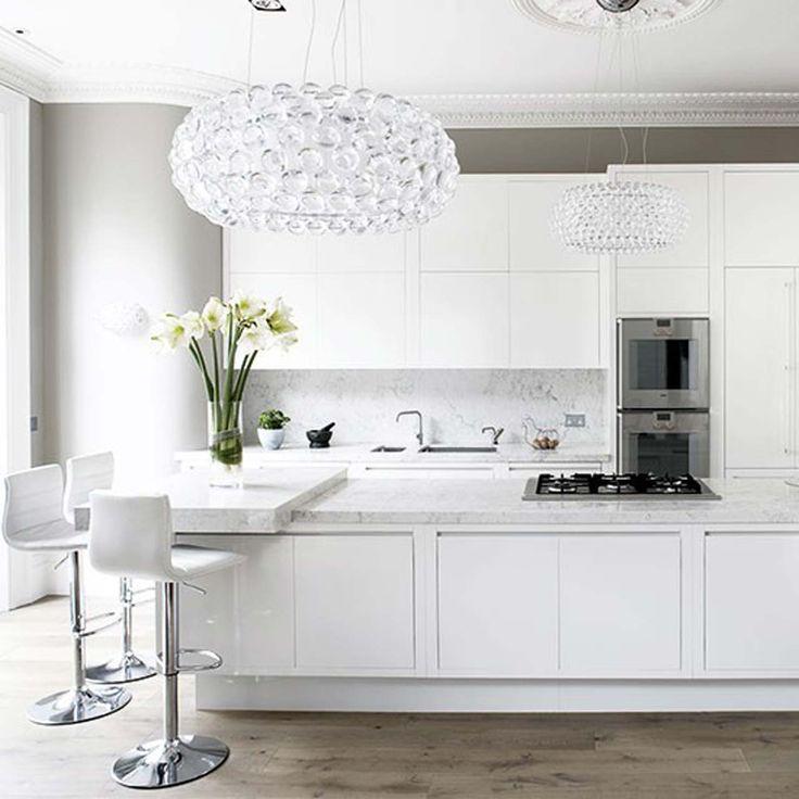 Chamber-Furniture White kitchen design ideas ~ http://www.lookmyhomes.com/white-kitchen-design-ideas-10-best-photos/