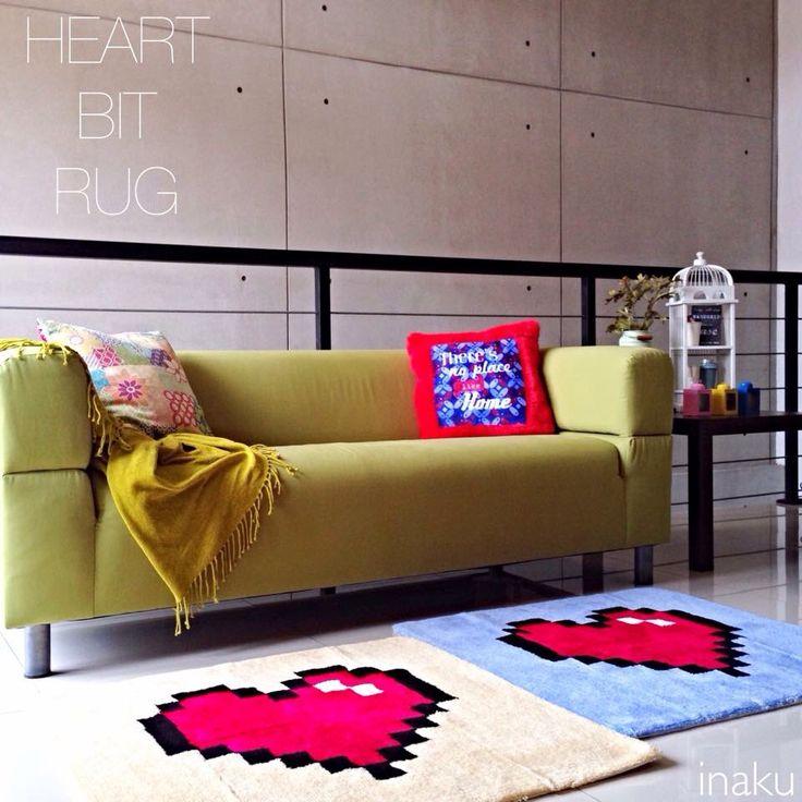 inaku Heart Bit #rug