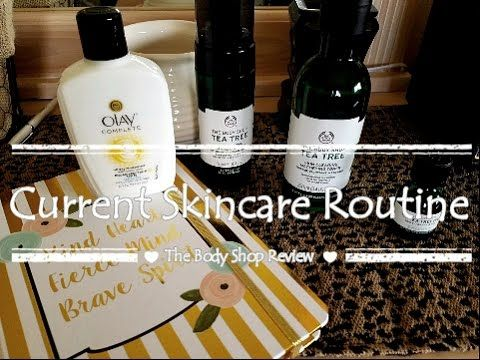 Current Skincare Routine│The Body Shop│Tea Tree