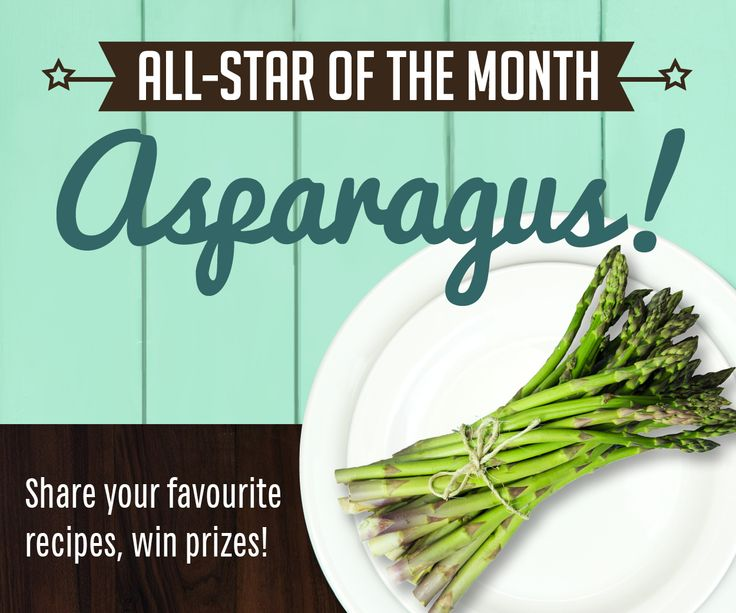 Asparagus! May all-star for #LocalDishTO!