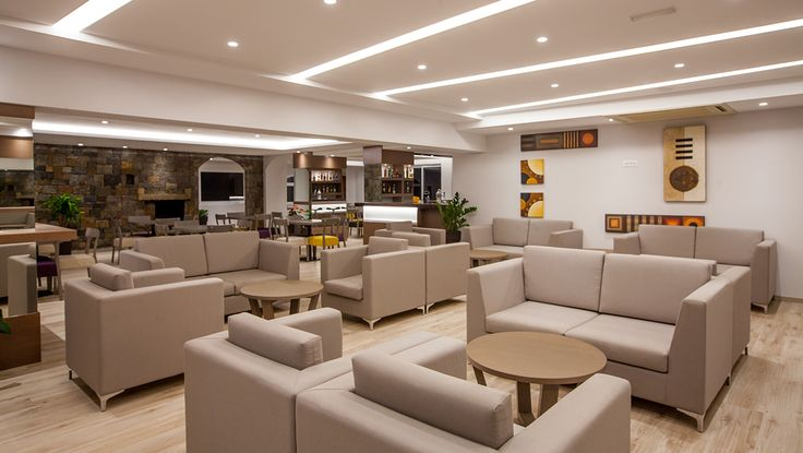 Elounda Breeze - Lobby Area #vitahotels #crete #elounda #eloundabreeze #lobby #luxury #interior http://www.eloundabreeze.gr/