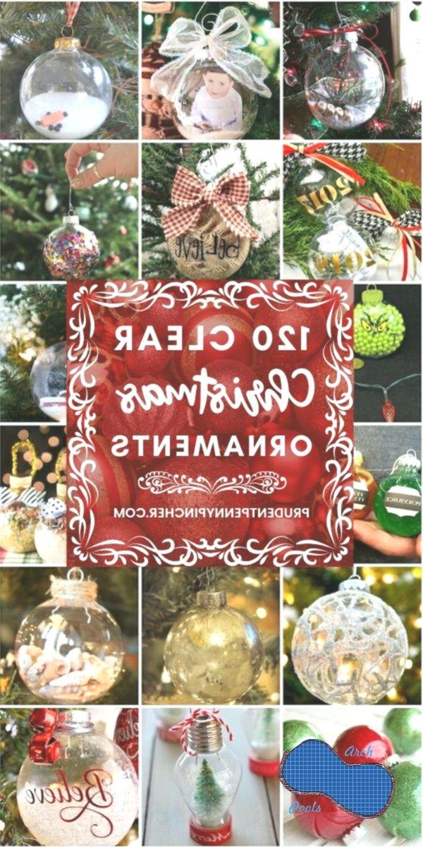 120 Diy Clear Glass Christmas Ornaments Christmas Clear Diy