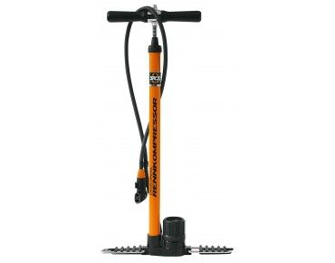 SKS RENNKOMPRESSOR FLOOR PUMP orange