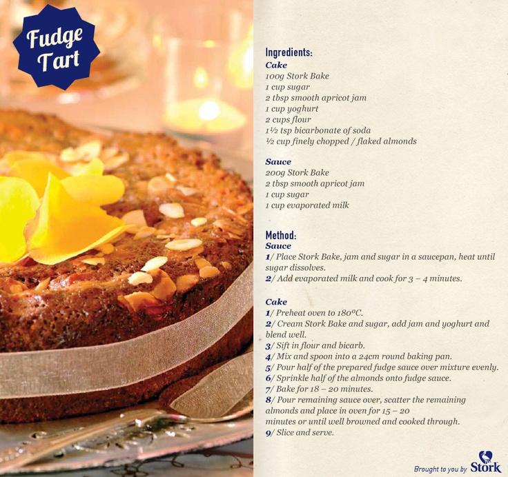 Fudge + tart = deliciousness! #recipe