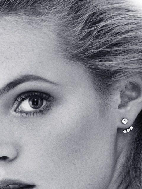 YVONNE LEON...below the ear...http://anoteonstyle.com/focus-on-yvonne-leon/