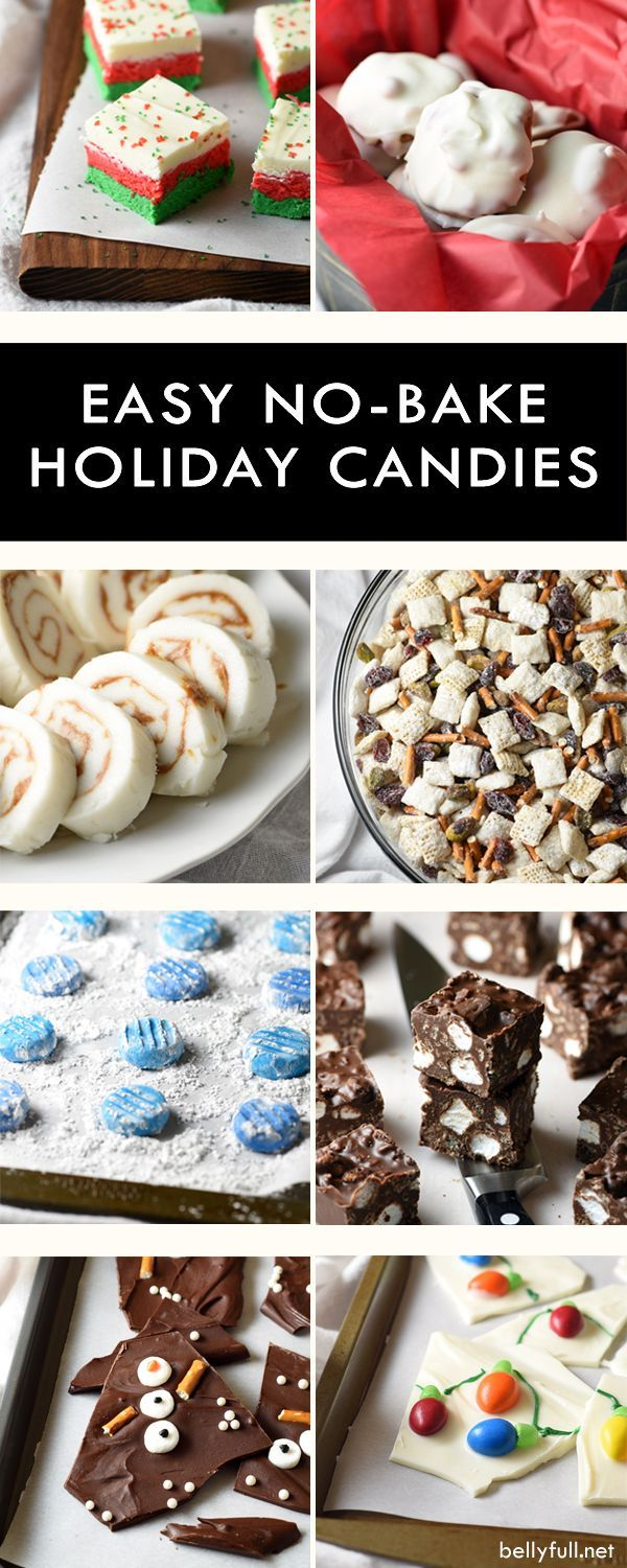 These No-Bake Holiday Candies are super easy, delicious, and free up your oven for the main meal when you need it the most!