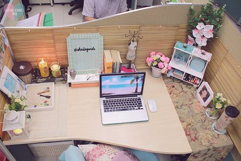 ok this is adorable for a cubicle makeover