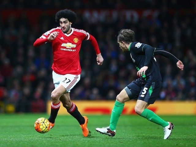 Team News: Marouane Fellaini starts against Liverpool