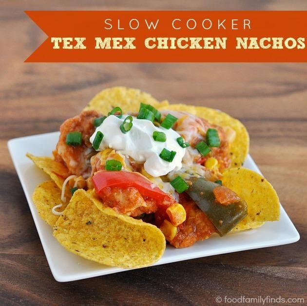 crock pot chicken slow cooker chicken chicken nachos recipe chicken ...
