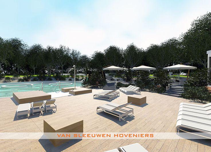 3D ontwerp & uitvoering door Van Sleeuwen Hoveniers - Veghel