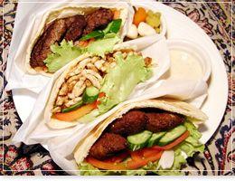 ピタパンサンドイッチ各種イラン・アラブ料理「アラジン|Aladdin」