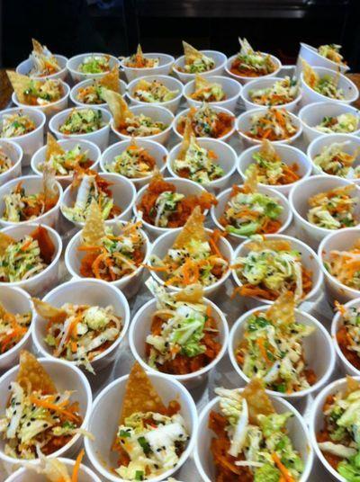 Bahn mi salad... Making this right now. I love bahn mi!