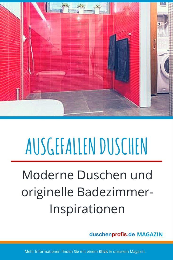 Langweilig duschen war gestern Wir zeigen Ihnen in unserem Magazinbeitrag ausgefallene Ideen und eindrucksvolle Inspirationen