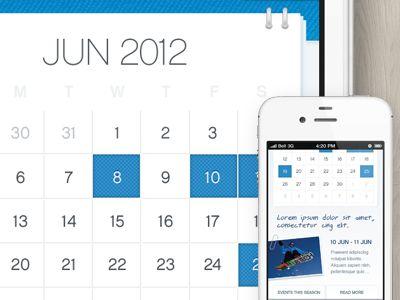 Best Calendar Ui Images On   Calendar Ui Calendar