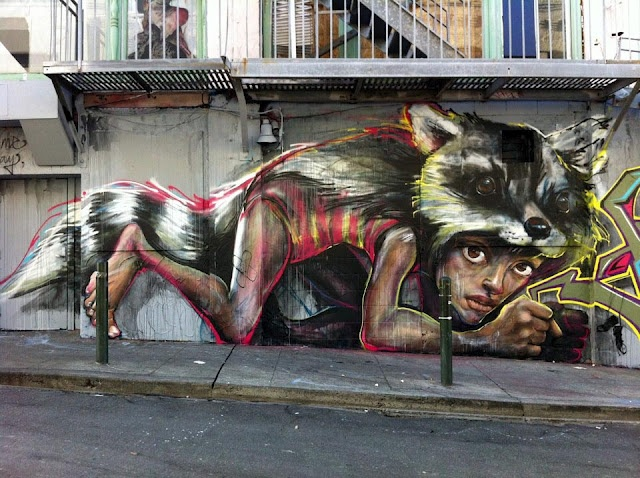 Herakut.. . #streetart