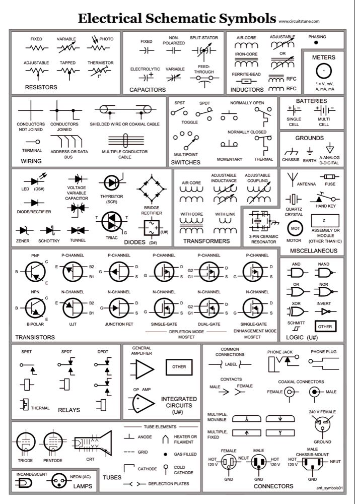 Image Of Wiring Diagram Symbols Automotive Electrical Schematic