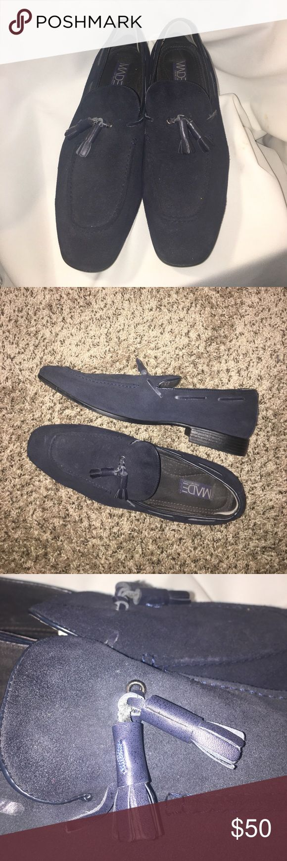 Cam Newton MADE suede loafers Cam Newton MADE suede loafers Cam Newton MADE Shoes Loafers & Slip-Ons