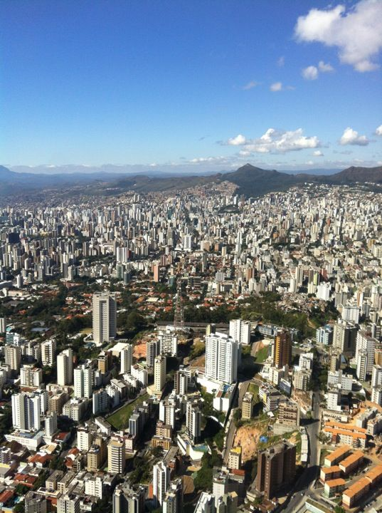 Onde vivo....Belo Horizonte em Minas Gerais