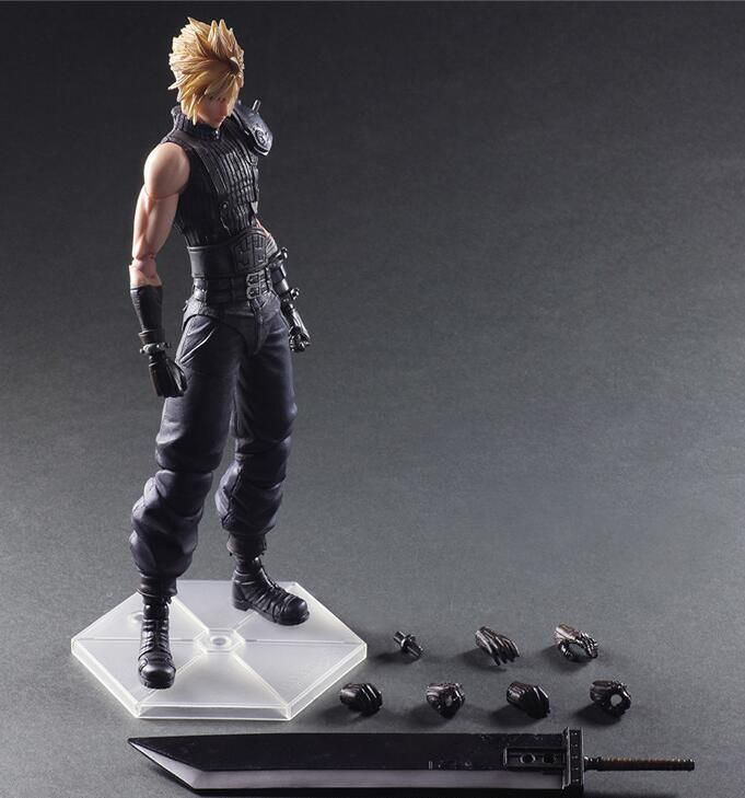 PVC painted action figure FINAL FANTASY VII PLAY ARTS Cloud Strife