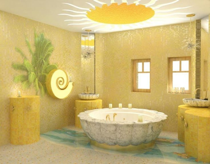 Bathroom Yellow Paint 91 best yellow bathrooms images on pinterest | bathroom ideas