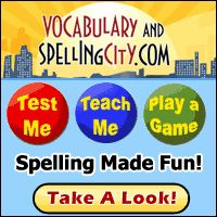 How to differentiate your spelling program using SpellingCity.com. Students can take their tests and have them scored online. SpellingCity has excellent free tools and a great premium program, too.