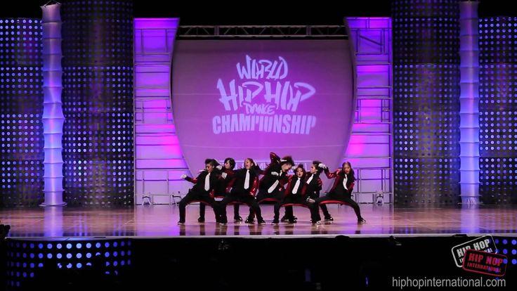 Japanese Kids Dance Team at World Championship