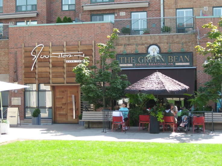 The Green Bean - great coffee and a sandwich (Oakville)