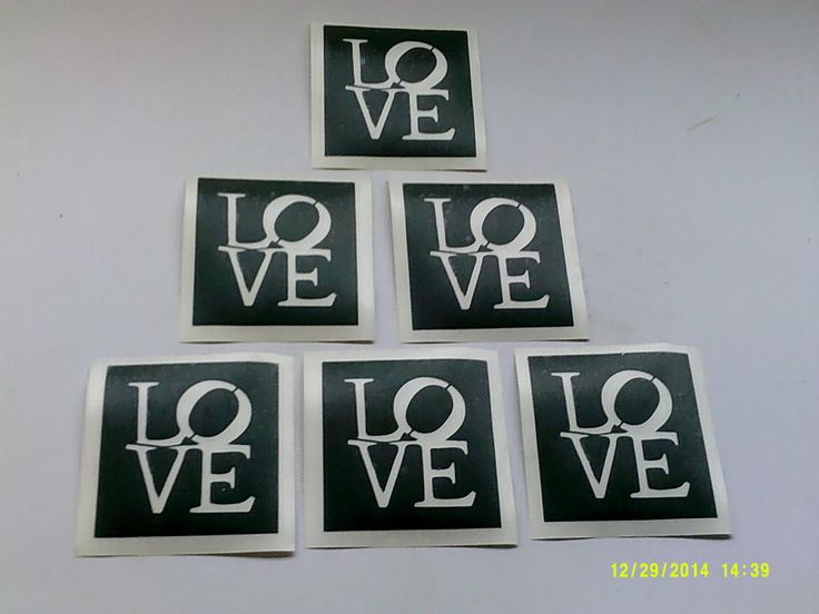 how to make a word stencil for painting