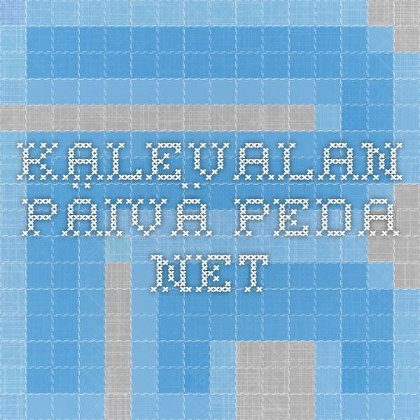 Kalevalan päivä peda.net
