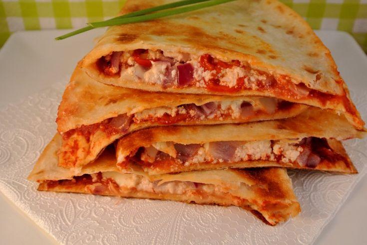 Quesadillas met een Grieks tintje   Lekker en Simpel