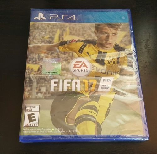 Video Gaming: Fifa 17 (Playstation 4 Ps4) Brand New Factory Sealed.. BUY IT NOW ONLY: $41.95