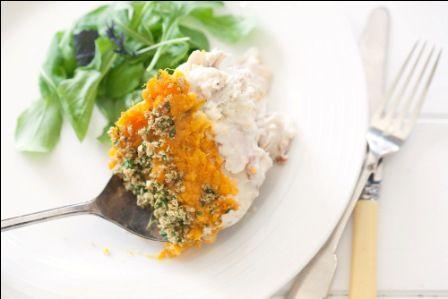 Foodlovers website, Helen Jackson. Smoked fish pie. Photos by Carolyn Robertson