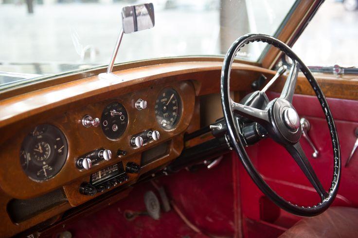 A peek inside our Bentley S Type.