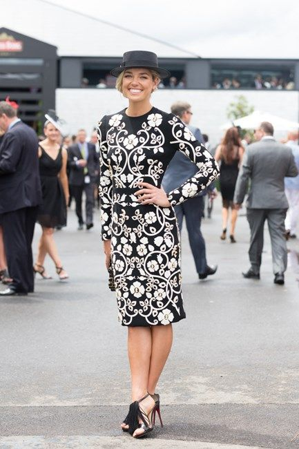 Best Dressed At Derby Day Spring Carnival 2015 Ashley Hart wears Dolce & Gabbana