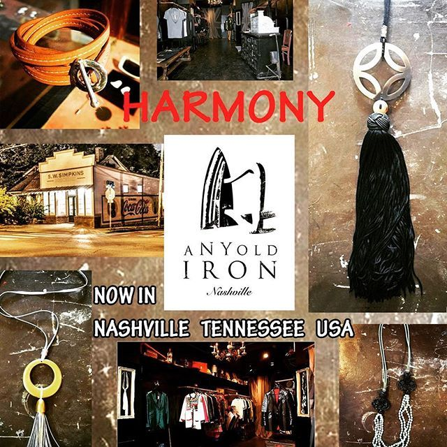 While you are traveling, HARMONY can be purchased at ANY OLD IRON @anyoldiron , 1629 Shelby Ave, Nashville, TN 3720, USA.  Don't hesitate to contact us at harmonynecklaces@gmail.com Worldwide commercial.  #nashville #vsco #necklaces #handmadejewelry #saigon #vietnam #travel #inspiration #wanderlust #fashiondesigner #fashion #traveling #ladiesfashion #like4like #followforfollow #jewelrydesigner #landscape #diy #handmade #handmadeaccessories #uniquejewelry #instagood #instadaily #womenpower…