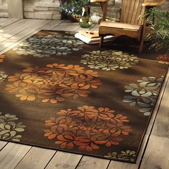 Hilo ii area rug patio rugs outdoor rugs all weather for All weather patio rugs