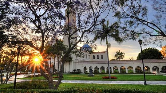 University of San Diego. Beautiful!