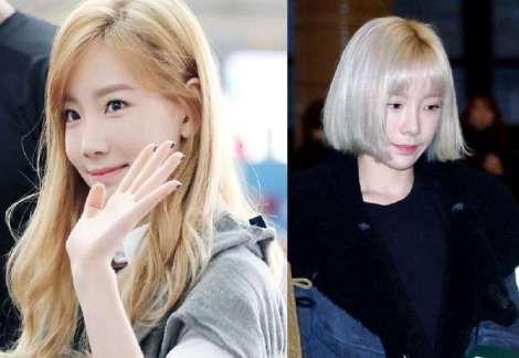 Adu Cantik: Taeyeon dengan Rambut Panjang atau Pendek?